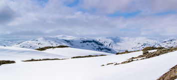 Norwegia widok górski Fotografia Stock