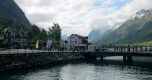 Norwegia wyspa Zdjęcia Royalty Free