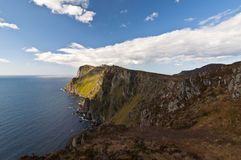 Norwegia, wyspa Runde Obraz Stock