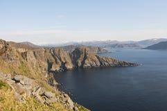 Norwegia, wyspa Runde Obrazy Stock