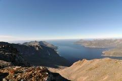 Norwegia, wyspa Senja Zdjęcia Stock