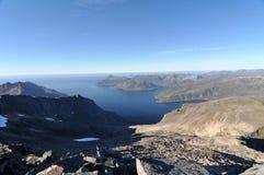 Norwegia, wyspa Senja Zdjęcie Royalty Free