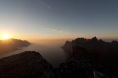 Norwegia, wyspa Senja Zdjęcie Stock