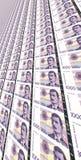 Norwegian 1000 kroner bills royalty free stock photo