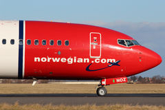 Norwegian Air Shuttle Arkivfoton