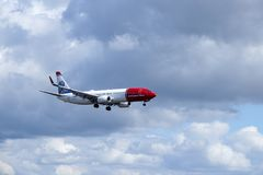 Norwegian Air Shuttle ASA, Boeing 737 - 8JP Fotografia de Stock