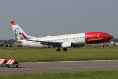 Norwegian Air Shuttle Boeing 737 Foto de Stock