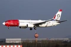 Norwegian Air Shuttle Royalty Free Stock Photo