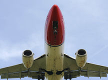 Norwegian airliner Stock Image