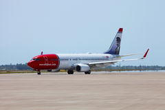 Norwegian Airlines Royalty Free Stock Images