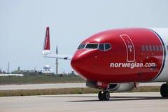 Norwegian Airlines Stock Image
