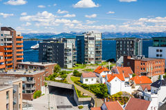 Norwegian architecture Stock Photo