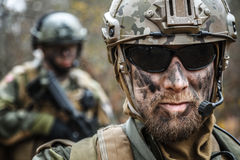Norwegian Armed Forces soldiers Stock Photography