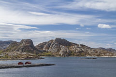 Norwegian Atlantic coast Stock Images