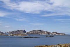 Norwegian Atlantic coast Stock Images
