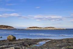Norwegian Atlantic coast Royalty Free Stock Photos