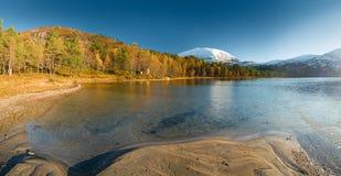 Norwegian autumn landscape Royalty Free Stock Photo