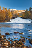 Norwegian autumn landscape Stock Images