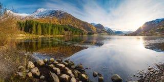 Norwegian autumn landscape Stock Photo