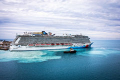 Norwegian Breakaway Bermuda Royalty Free Stock Photography