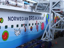 Norwegian Breakaway Stock Photo