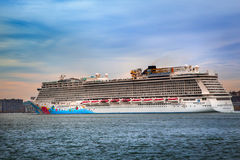 Norwegian Breakaway Cruise Ship Royalty Free Stock Photography