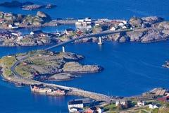 Norwegian bridges Stock Photo