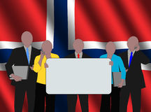 Norwegian business team Royalty Free Stock Images