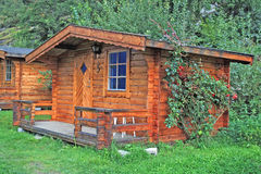 Norwegian cabin Royalty Free Stock Images