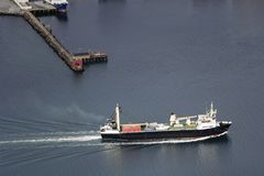Norwegian Cargo ship Stock Photos