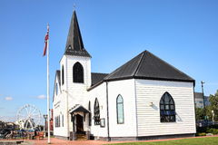 Norwegian Church, Cardiff Bay Stock Photos