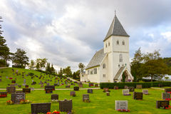 Norwegian Church Royalty Free Stock Photos