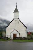 Norwegian Church Eidford Royalty Free Stock Photos