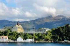 Norwegian city Royalty Free Stock Photography