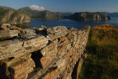 Norwegian coast. Idyllic landscape in Western Norway Royalty Free Stock Images