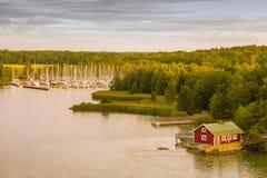 Norwegian coast Royalty Free Stock Photo