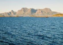 Norwegian coastal landscape Royalty Free Stock Photo