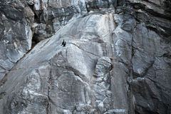 Norwegian coastal rock Royalty Free Stock Images