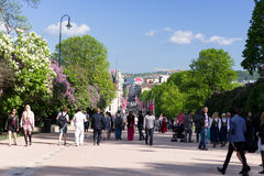 Norwegian Constitution Day on street Royalty Free Stock Photography