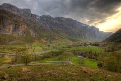 Norwegian countryside Royalty Free Stock Photo