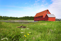 Norwegian Countryside Royalty Free Stock Images