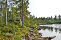 Norwegian Countryside. Royalty Free Stock Photo