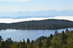 Norwegian Countryside. Royalty Free Stock Image