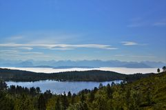 Norwegian Countryside. Beautiful countryside from Norway's west coast, close to the town of Molde Stock Images