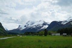 Norwegian Countryside. In Eresfjord area Stock Photo