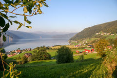Norwegian Countryside Stock Photography