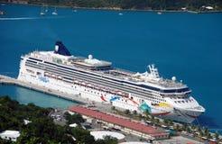 Norwegian cruise line ship stock photography