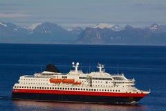 Norwegian cruise ship Royalty Free Stock Image