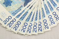Norwegian Currency Royalty Free Stock Photo