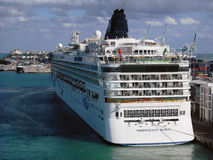 Norwegian Dawn. Docked at the port of Miami, USA Royalty Free Stock Image